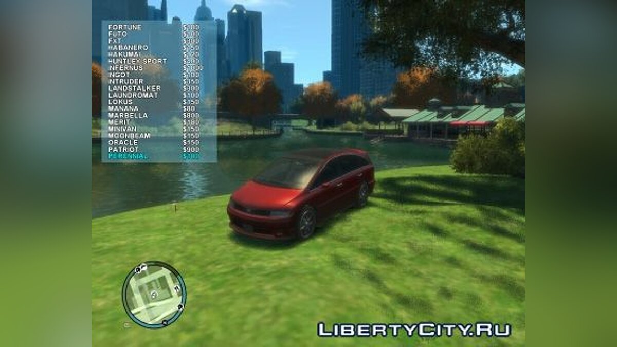 Rent-a-Car Mod ver1.1 для GTA 4