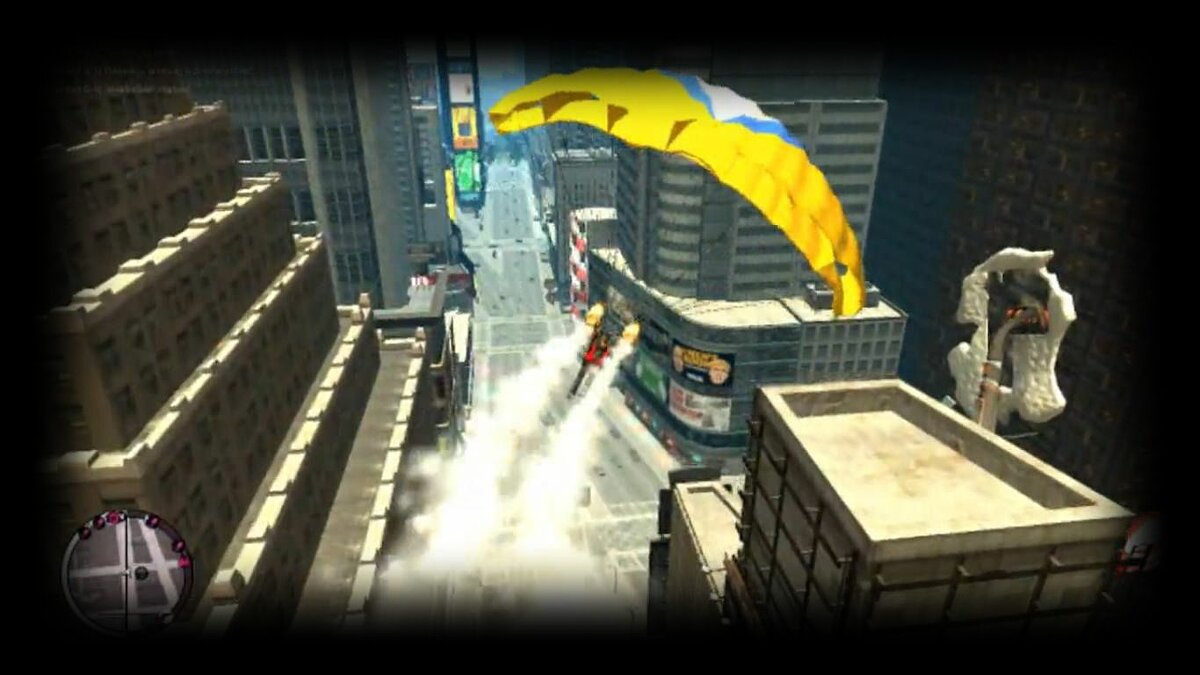 Parachute Jet Engine and Rockets для GTA 4