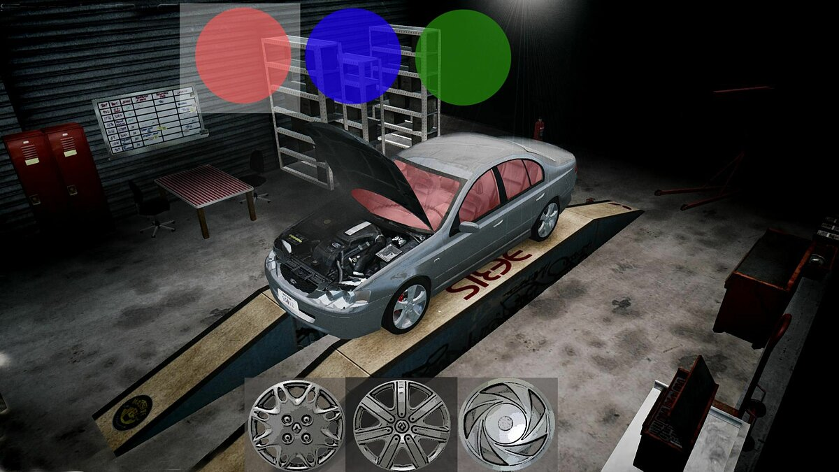 Car Tuning Garage Version 3.5 для GTA 4 - Картинка #1