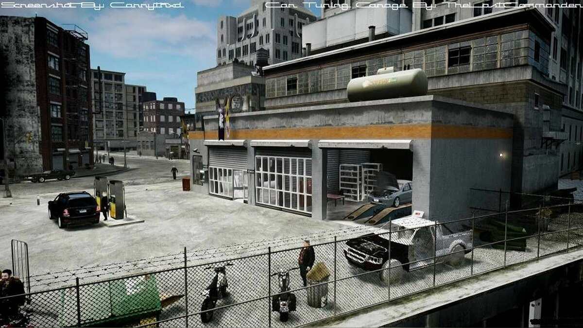 Car Tuning Garage v1.0 для GTA 4