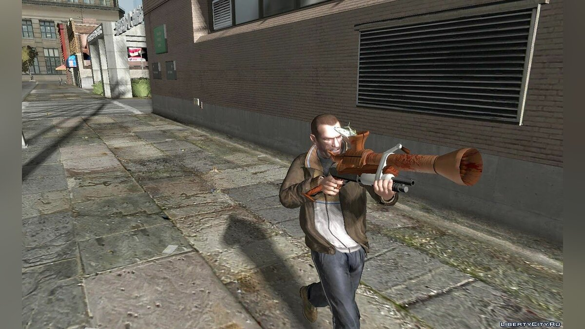 Shark-O-Matic gun для GTA 4
