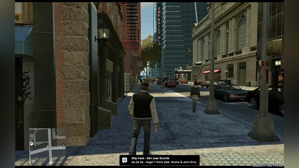 Mobile radio (Watch Dogs style) для GTA 4