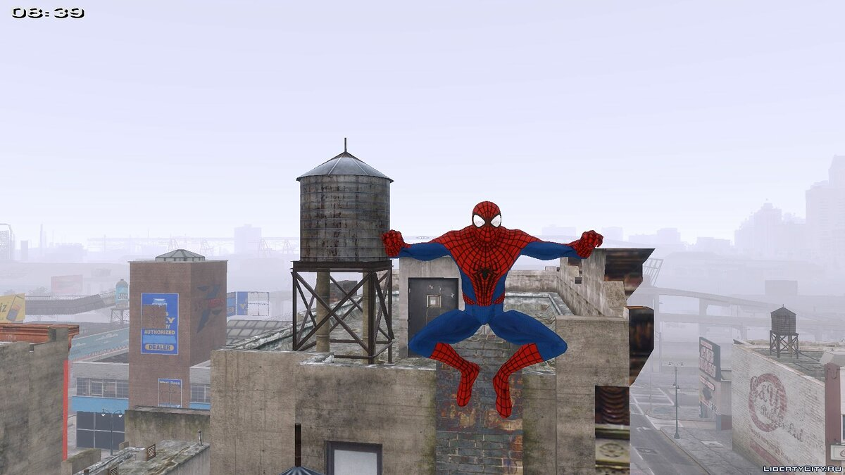 SpiderManIV + Performance для GTA 4