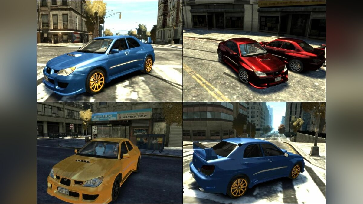 Subaru Impreza STI Wide Body для GTA 4