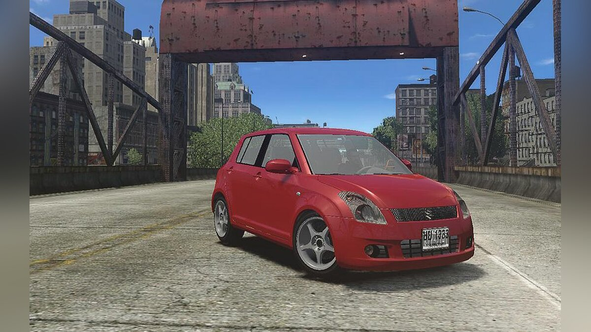 Машина Suzuki Suzuki Swift [Beta] для GTA 4