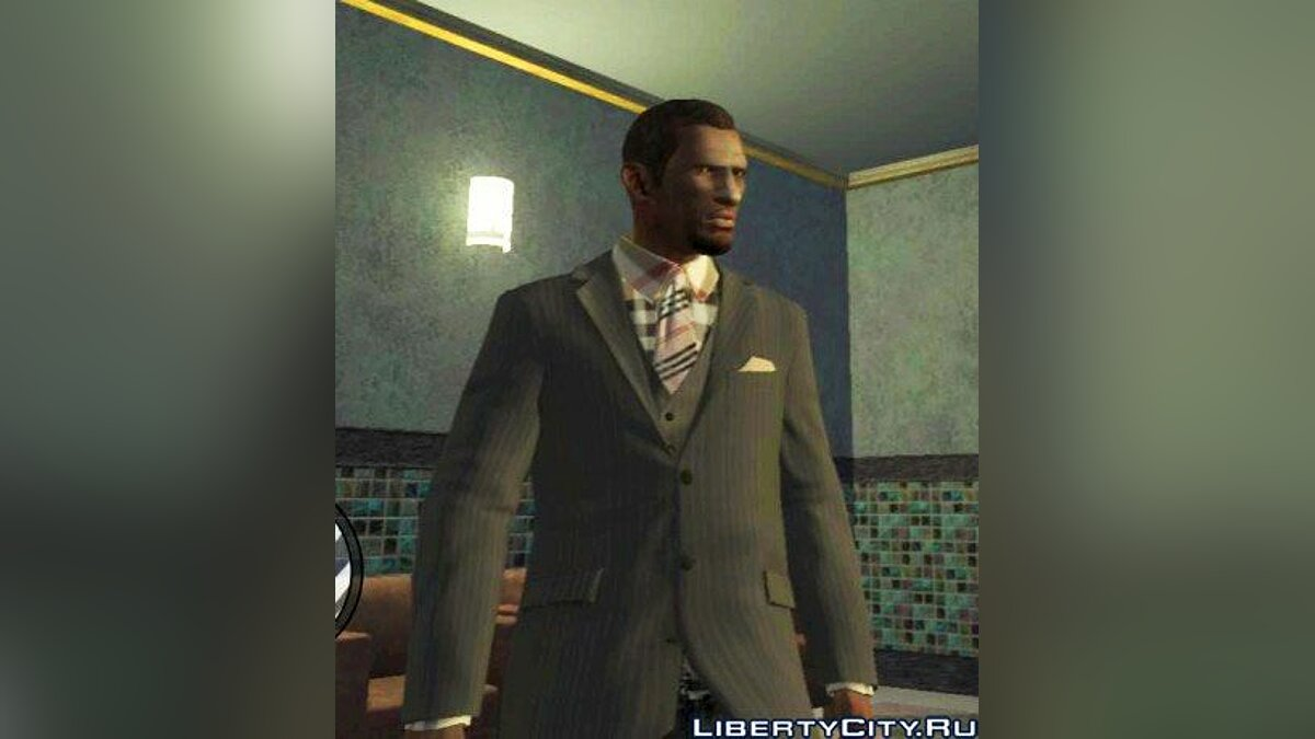 Burberry Necktie & Shirt для GTA 4