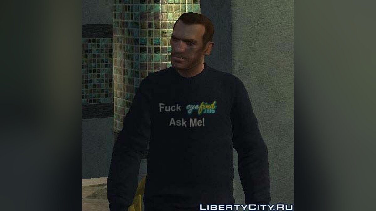 Fuck Eyefind.info Ask Me! Sweater для GTA 4