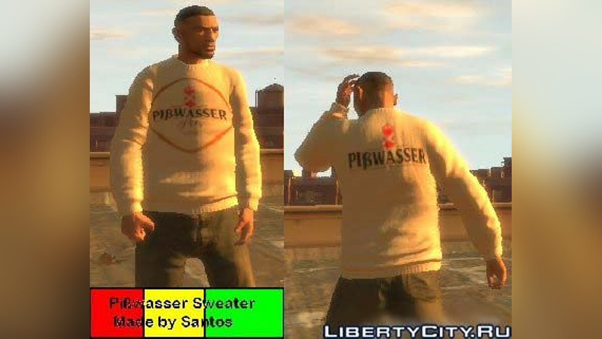 Pißwasser Sweater для GTA 4