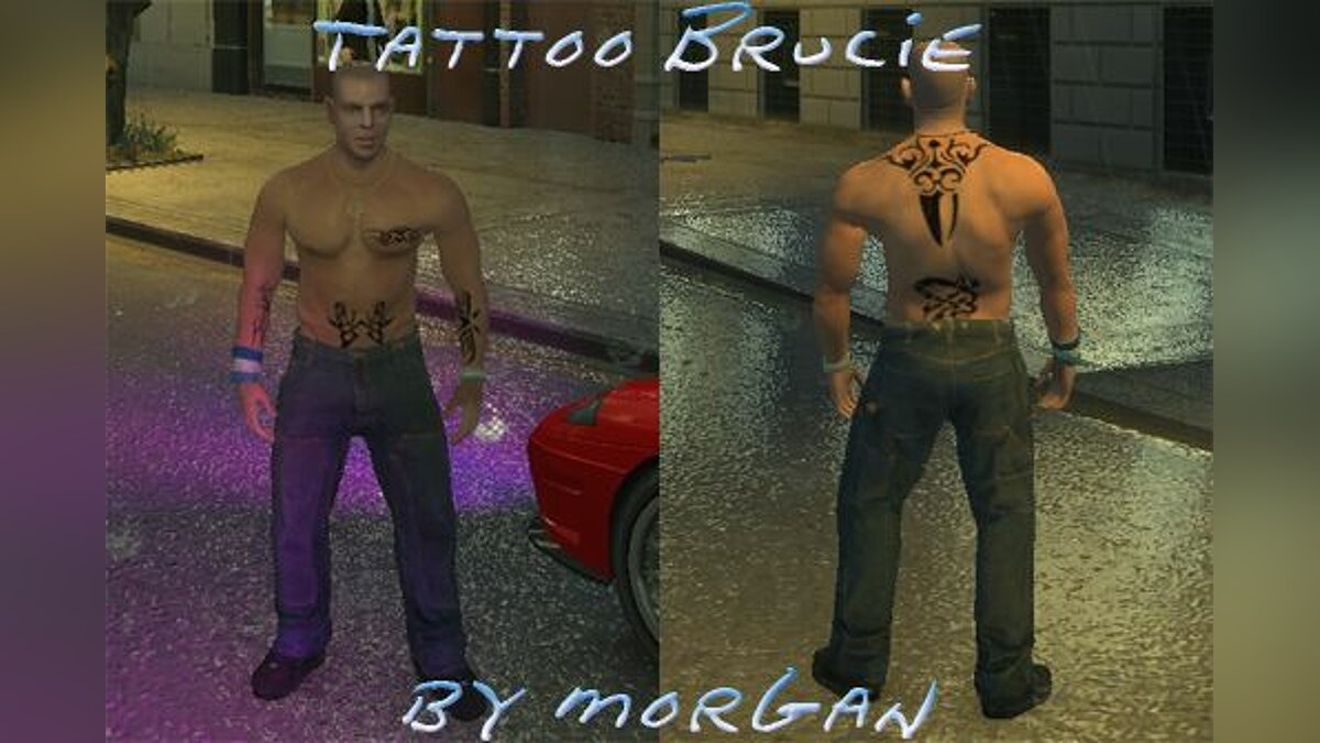 Tattoo Brucie для GTA 4