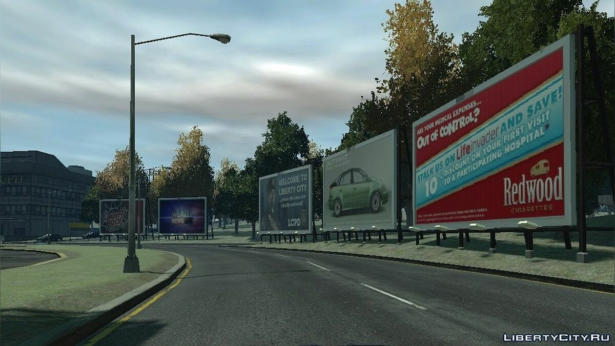 GTA V Billboards (Dukes) для GTA 4 - Картинка #1