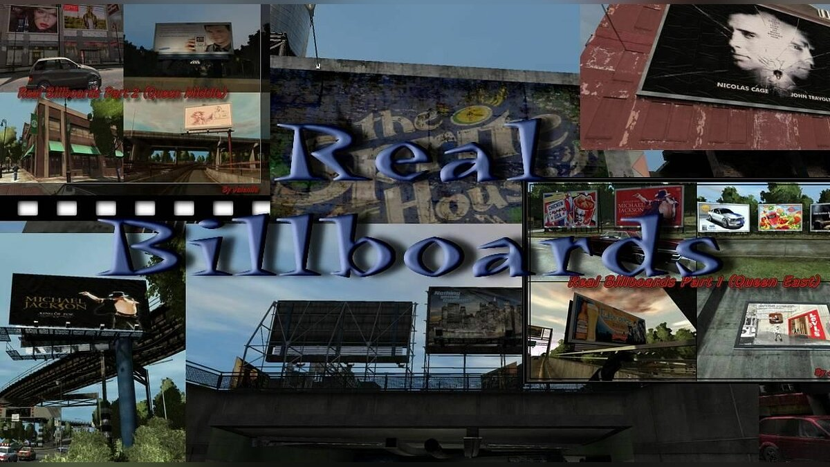 Real Billboards Project для GTA 4 - Картинка #1