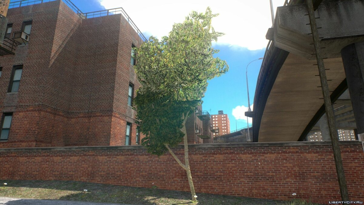 Текстурный мод Vegetation Textures by BisonSales Variety Pack для GTA 4