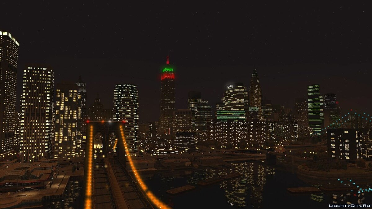 Christmas Rotterdam Tower для GTA 4 - скриншот #3