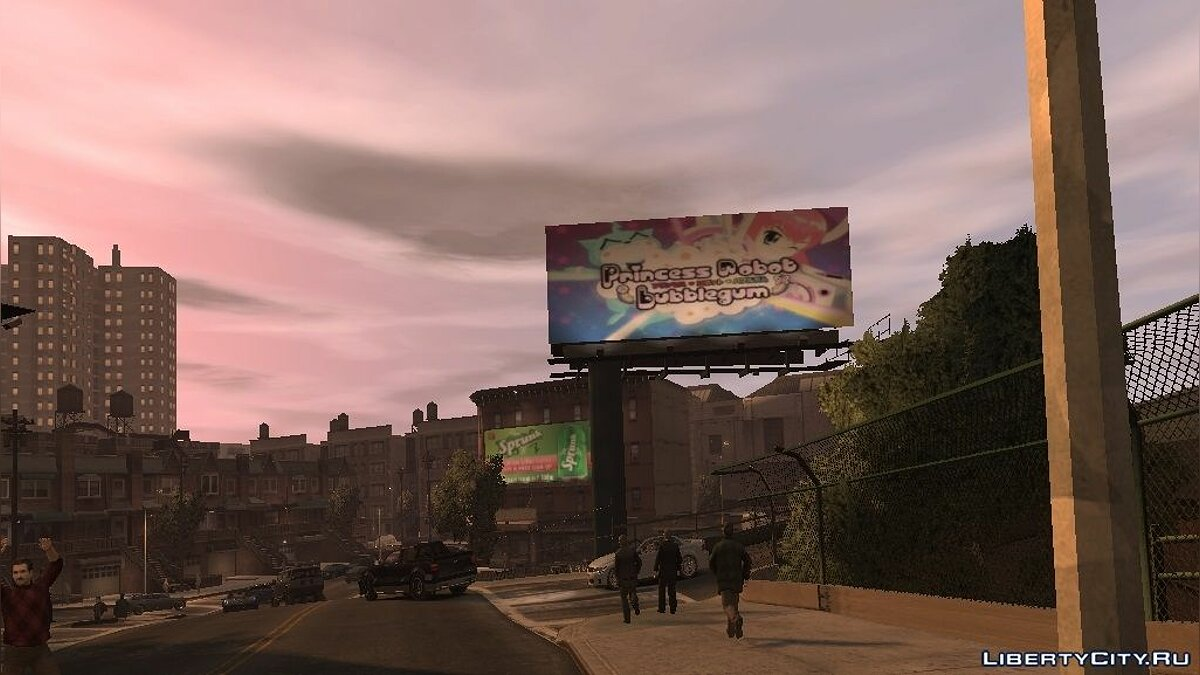 GTA V Billboards (Broker) для GTA 4