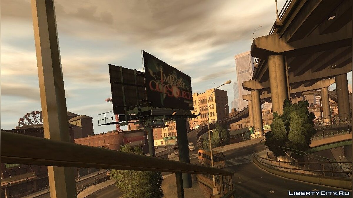 GTA V Billboards (Broker) для GTA 4 - скриншот #4