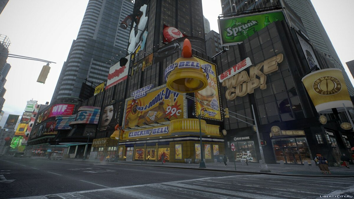Star Junction Textures by Vanni для GTA 4 - скриншот #10