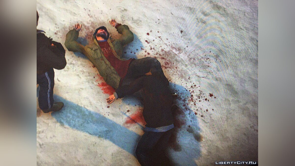 Текстурный мод Real Shooting Atmosphere (Blood, Bullet Holes) для GTA 4