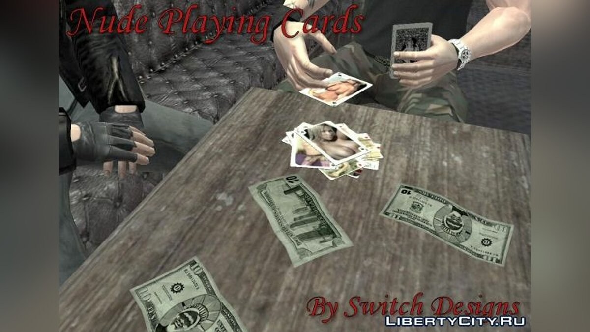 Nude Playing Cards для GTA 4