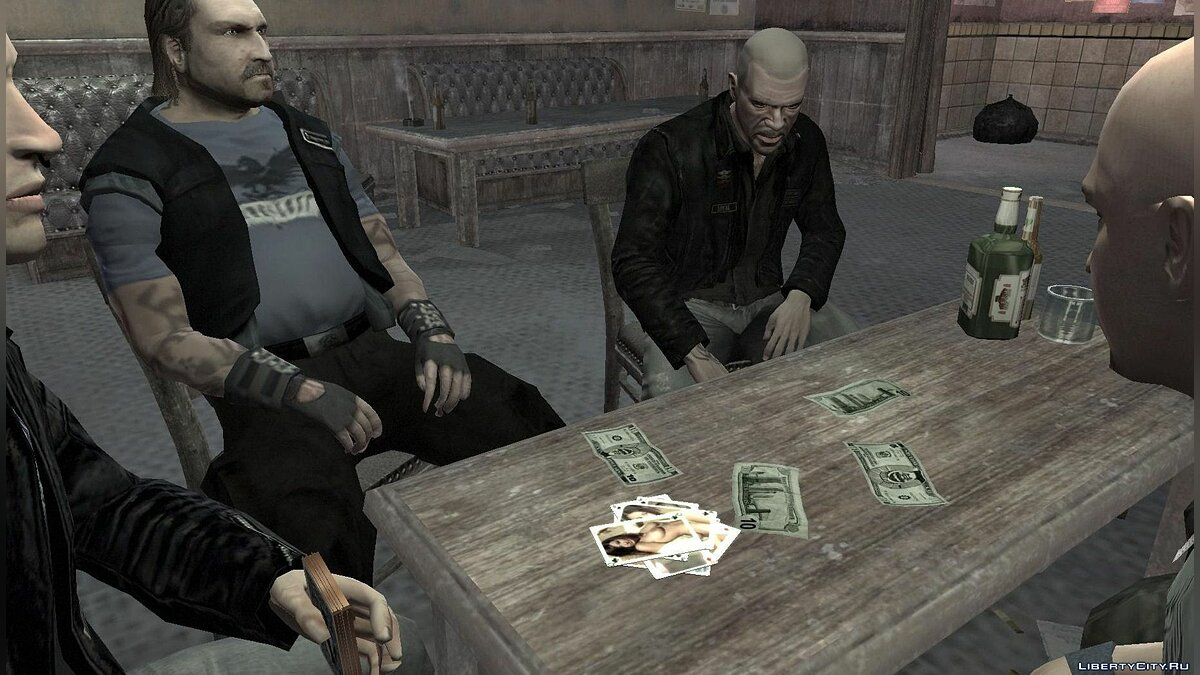 Nude Playing Cards для GTA 4 - скриншот #2