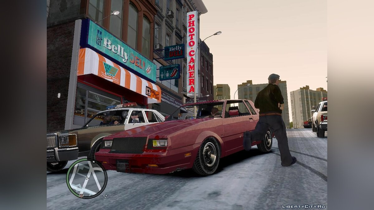 Текстурный мод Winter Liberty - Зимний мод для GTA 4