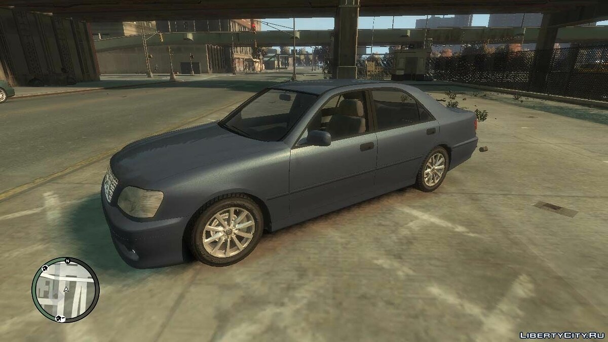 Машина Toyota 1999 Toyota Crown S170 v.1.0 для GTA 4