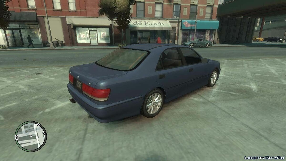 ��ашина Toyota 1999 Toyota Crown S170 v.1.0 для GTA 4