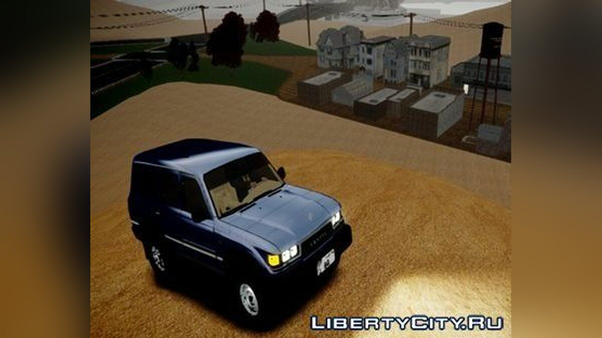 1997 Toyota Land Cruiser GX by alialmoot для GTA 4 - Картинка #1