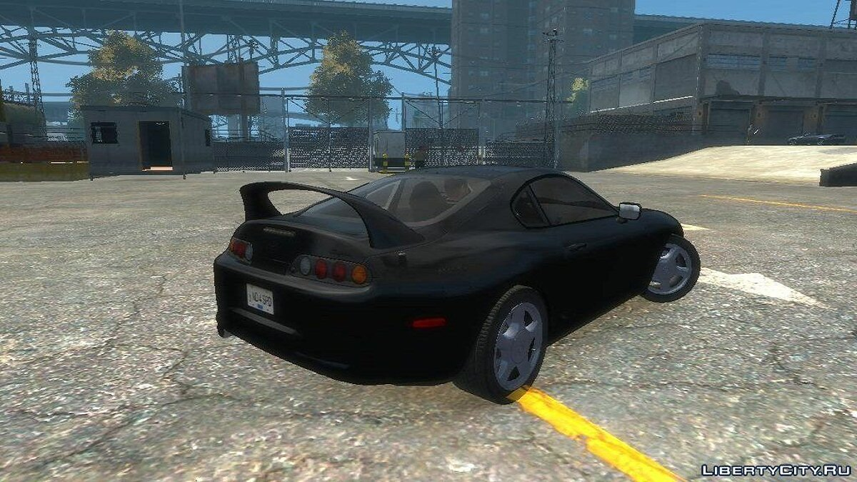 Toyota Supra Stock by Imtaj для GTA 4