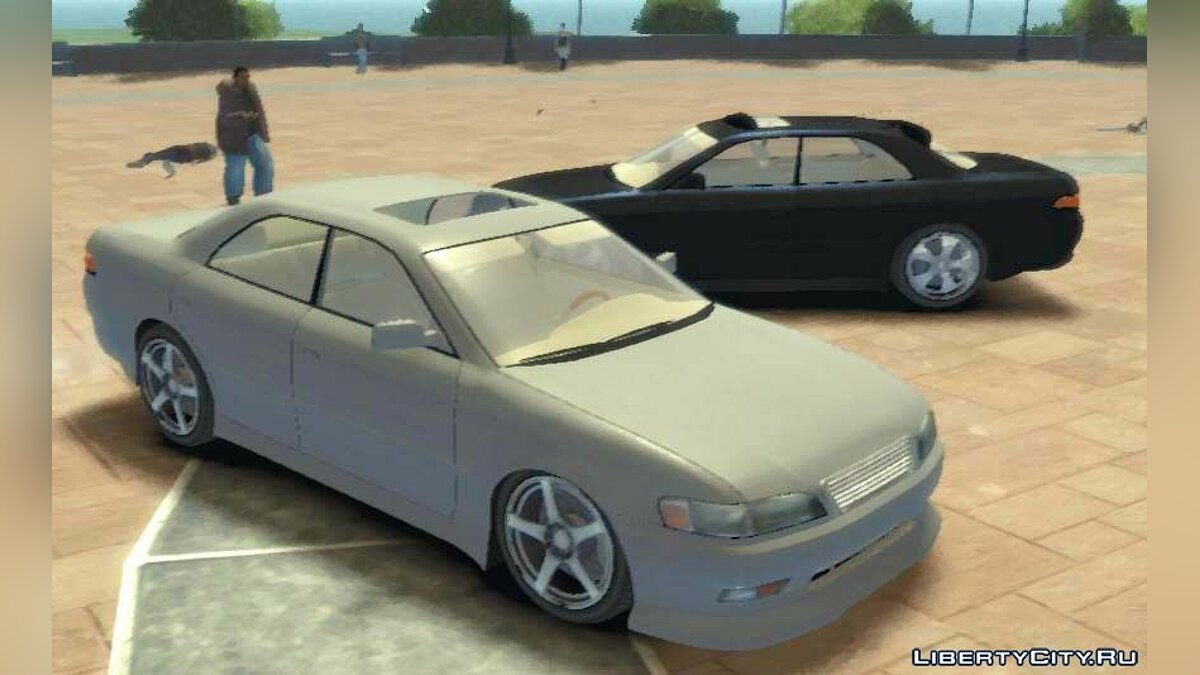 Toyota Mark II 90 для GTA 4