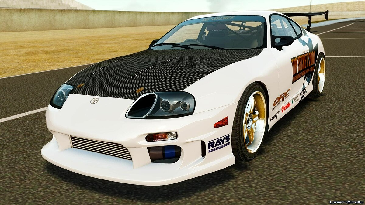 Toyota Supra Top Secret для GTA 4