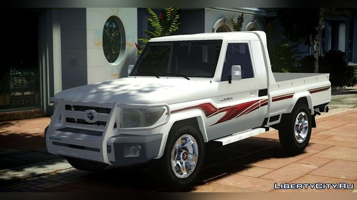 2012 Toyota Land Cruiser Pick-Up 79 v1.0 для GTA 4 - скриншот #3