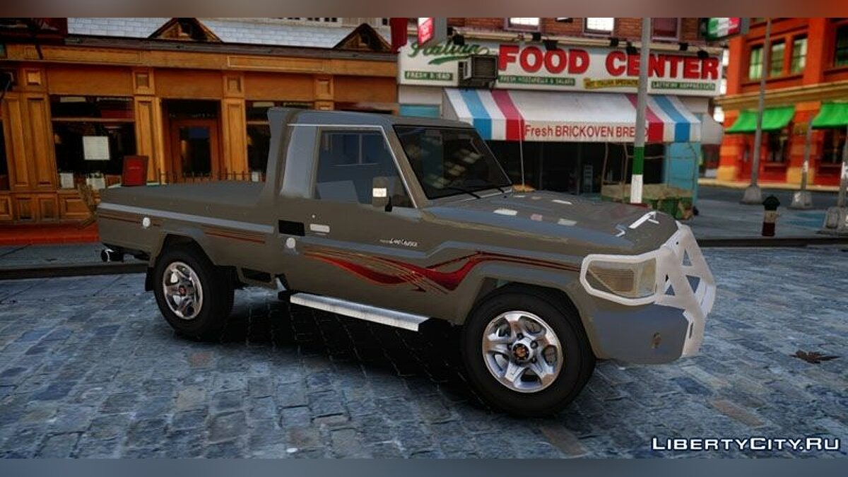 2012 Toyota Land Cruiser Pick-Up 79 v1.0 для GTA 4