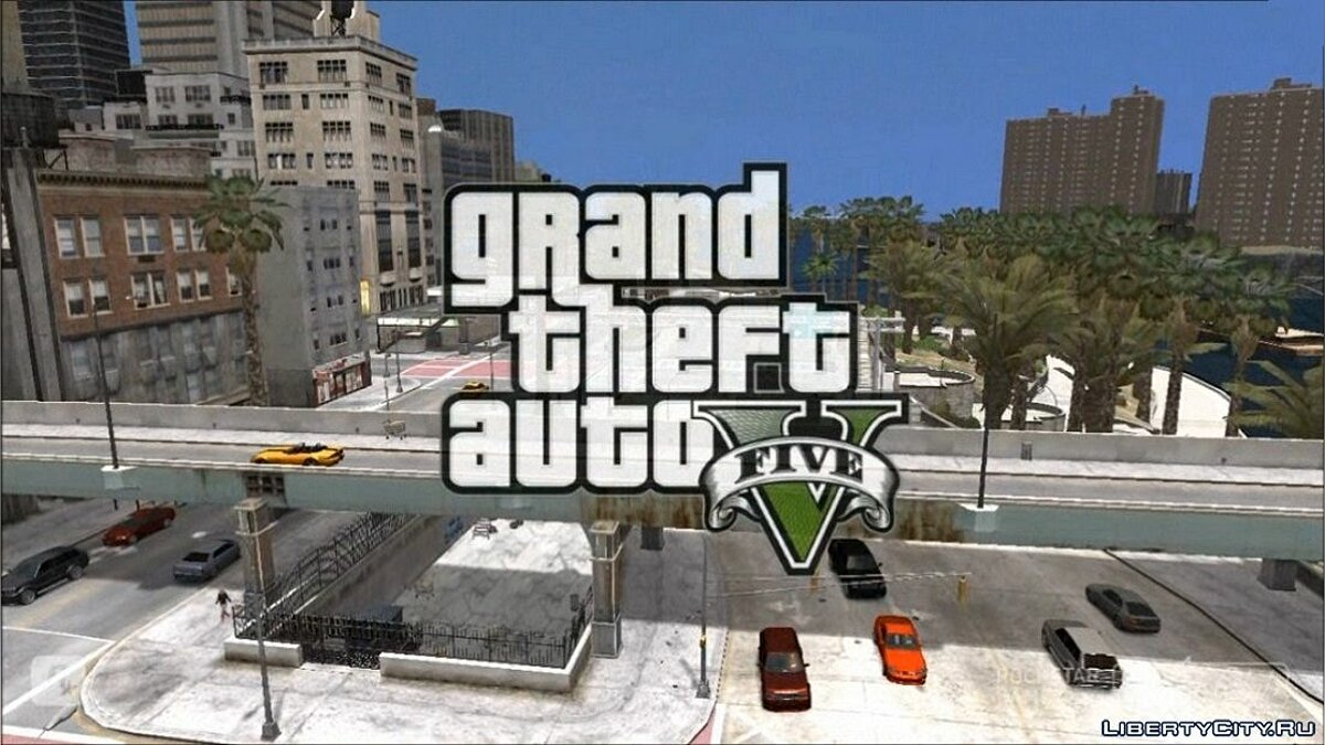 ��рейлер GTA 5 trailer 2 in GTA 4 для GTA 4