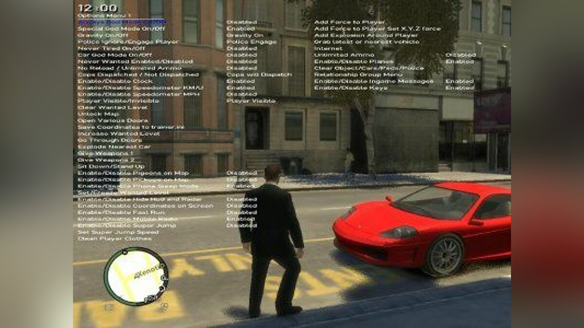 Simple Native Trainer 6.0 для GTA 4