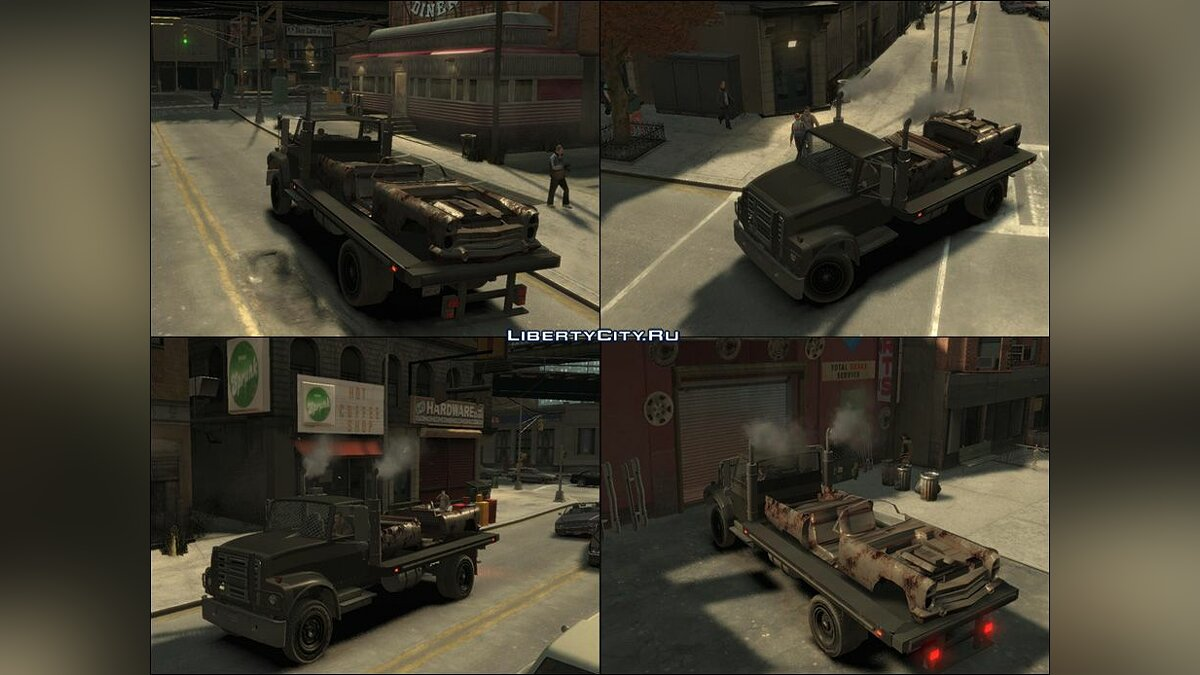 ��рузовик Yankee Flatbed beta для GTA 4