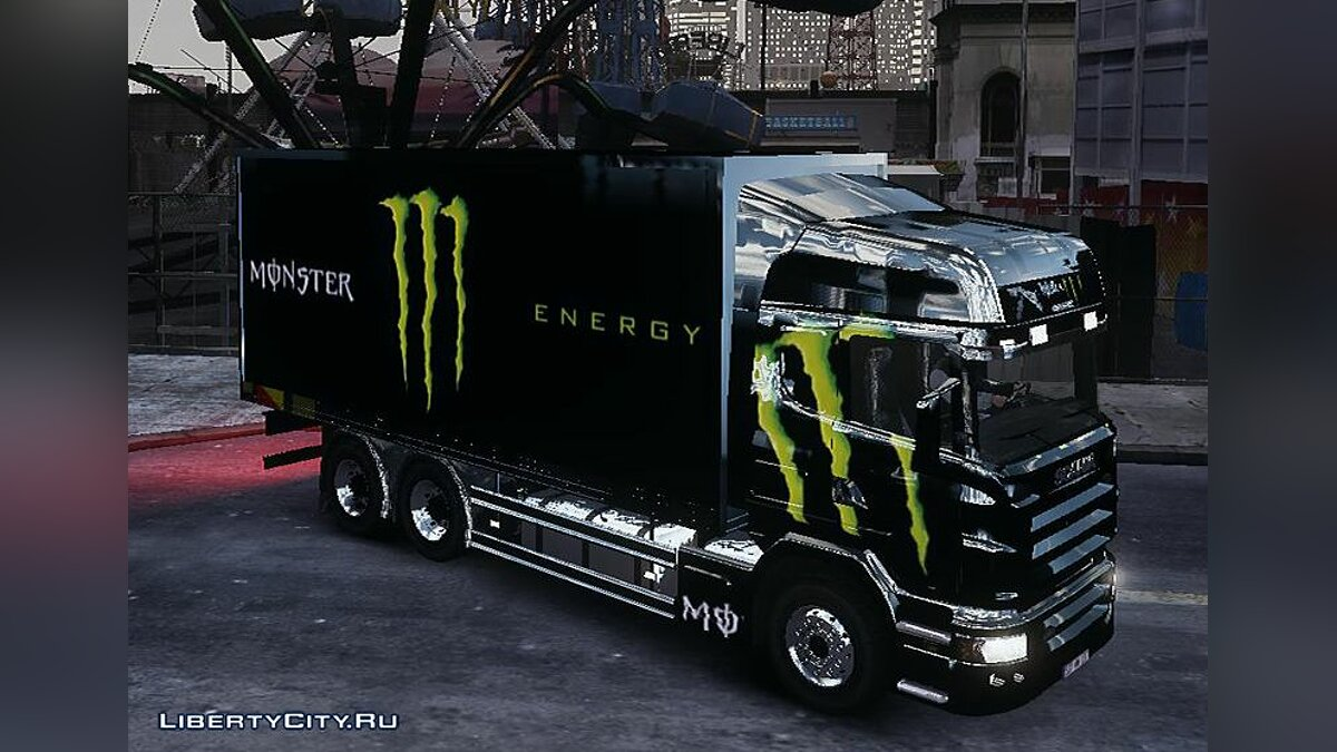 Scania R580 Monster Energy для GTA 4