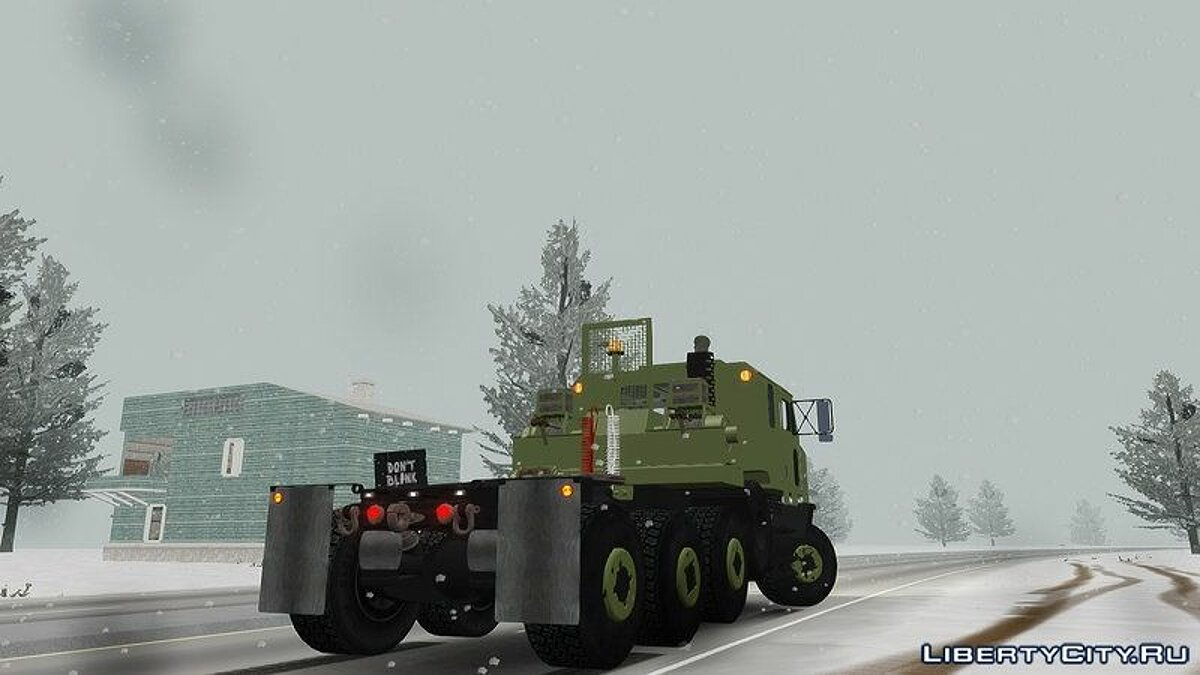 OShkosh M1070 HET USA Military Transport truck 2.0 для GTA 4