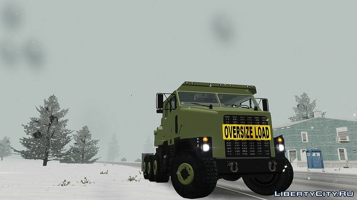 OShkosh M1070 HET USA Military Transport truck 2.0 для GTA 4 - скриншот #8