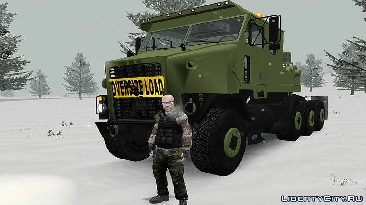 Грузовик OShkosh M1070 HET USA Military Transport truck 2.0 для GTA 4