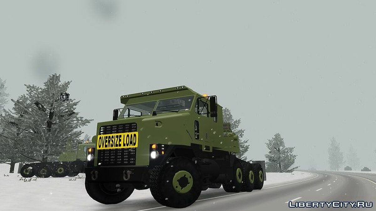 OShkosh M1070 HET USA Military Transport truck 2.0 для GTA 4 - скриншот #7