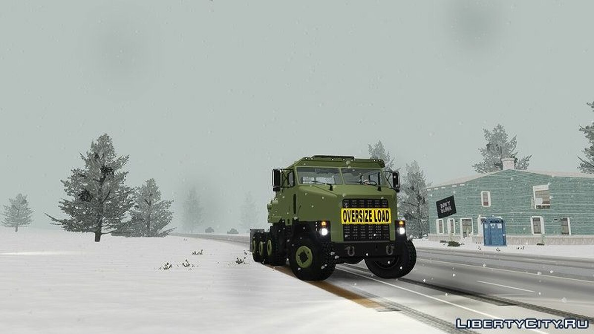 OShkosh M1070 HET USA Military Transport truck 2.0 для GTA 4 - скриншот #6