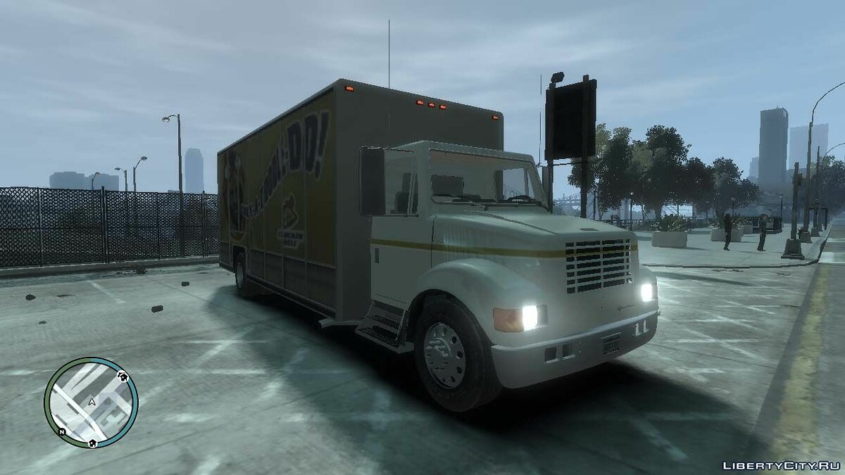Грузовик 2001 Navistar International 4700 для GTA 4