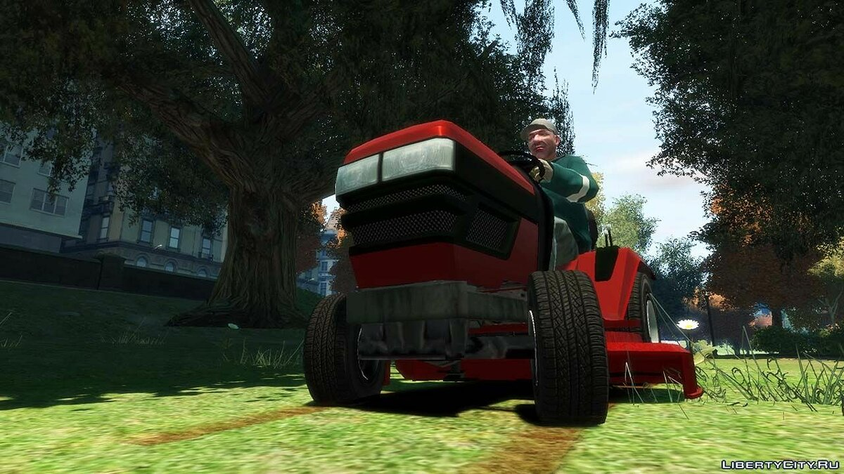 Грузовик GTA V Lawn Mower для GTA 4