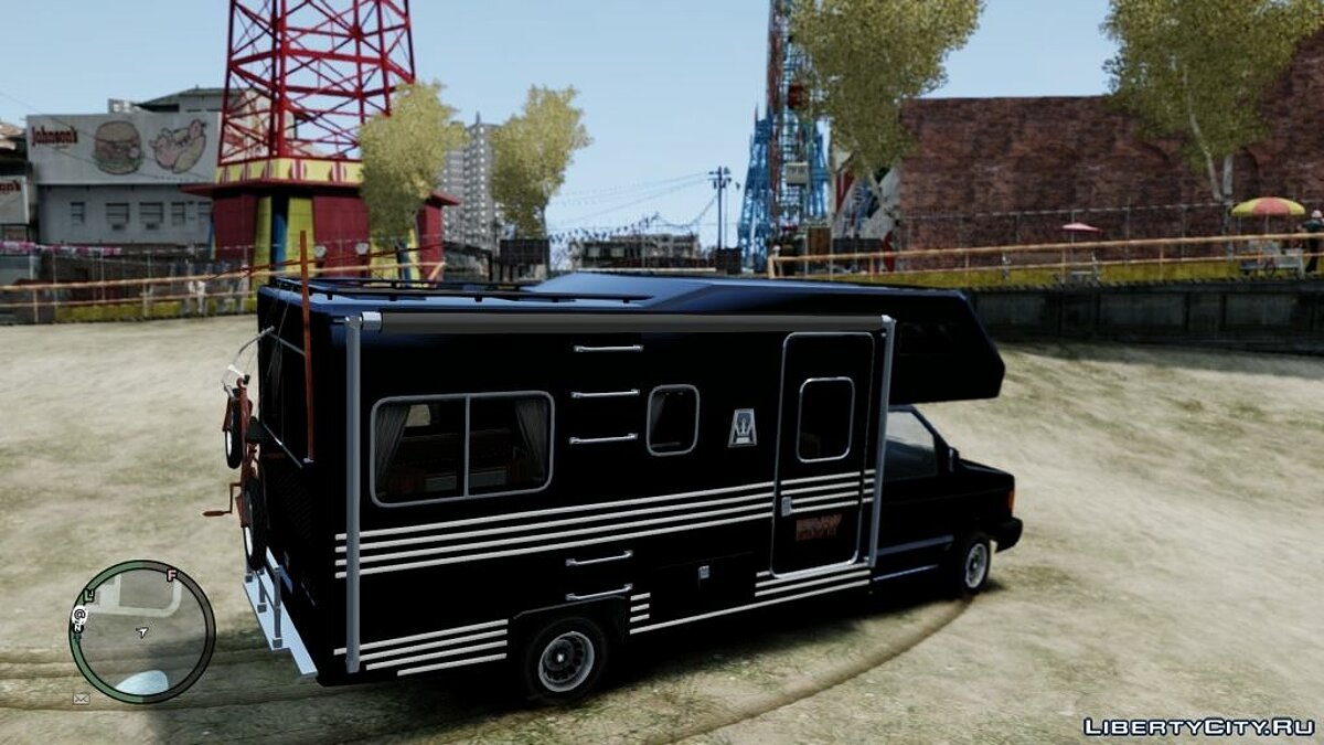��рузовик GTA IV Steed Camper для GTA 4