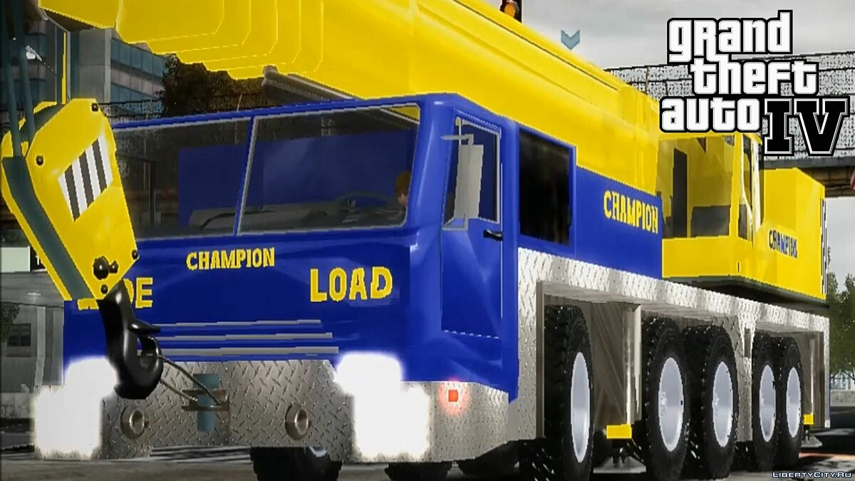Terminator 3 Movie Truck Champion Crane 2.0 для GTA 4
