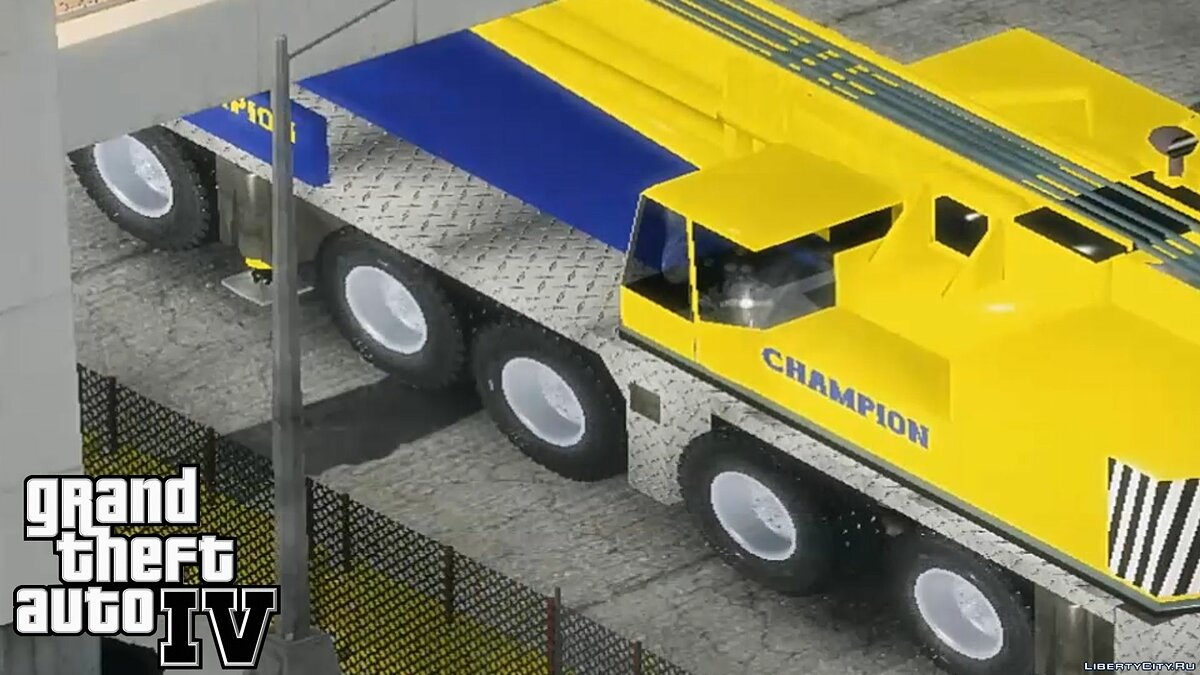 Terminator 3 Movie Truck Champion Crane 2.0 для GTA 4 - скриншот #3
