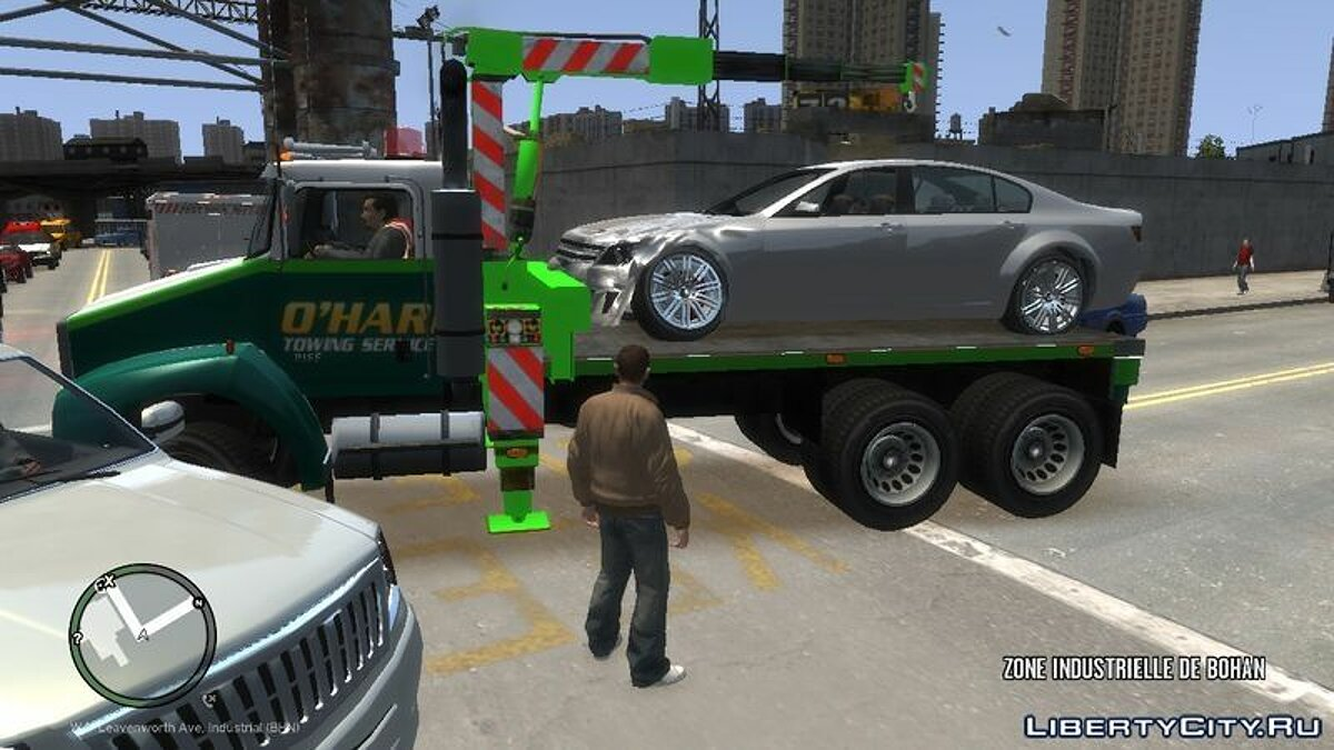 O'HARE Towing Service для GTA 4 - скриншот #2
