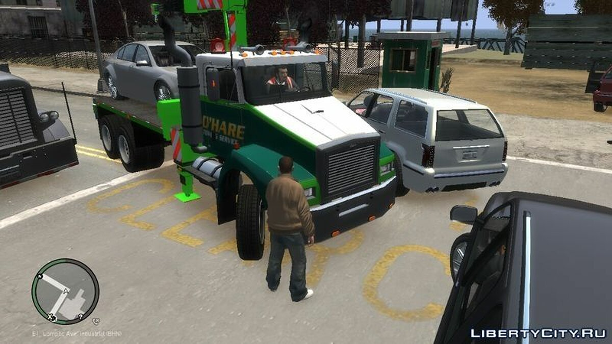 O'HARE Towing Service для GTA 4