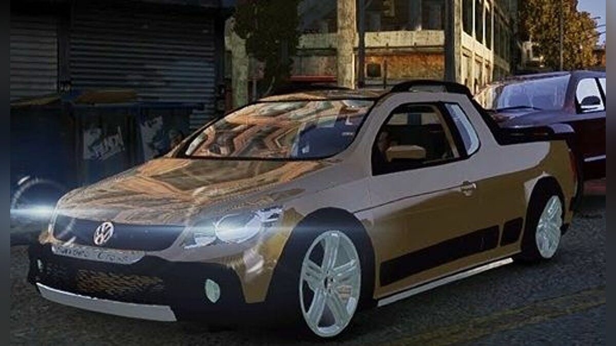 Volkswagen Saveiro Cross Edit для GTA 4 - Картинка #1