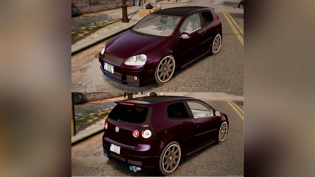 Volkswagen Golf GTi DT-Designs  для GTA 4 - Картинка #1